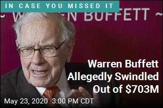 Warren Buffett Allegedly Swindled Out of $703M