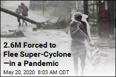 Super-Cyclone Forces 2.6M From Isolation to Shelters