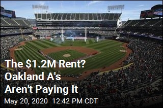 Latest Tenant Not Paying Rent: Oakland A's