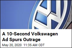 A 10-Second Volkswagen Ad Spurs Outrage