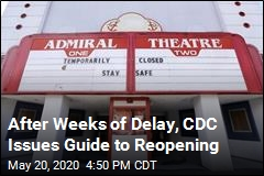 CDC Issues 3-Phase Guide for Reopening