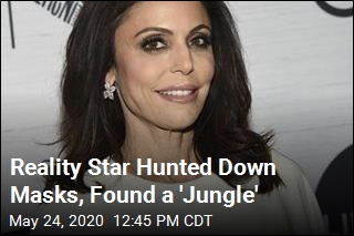 Bethenny Frankel Looked for Masks, Found a 'Jungle'