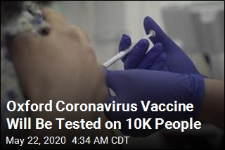 COVID-19 Study Aims to Vaccinate 10K People