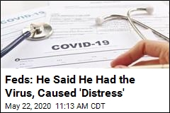 Feds: Man Made Up COVID Diagnosis, Cost Firm $100K