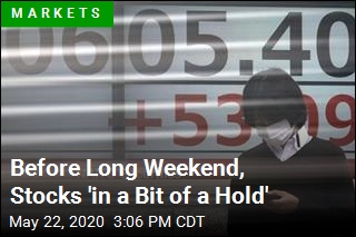 Before Long Weekend, Stocks 'in a Bit of a Hold'