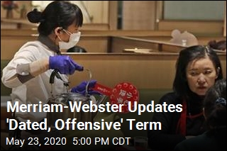 Merriam-Webster Updates 'Dated, Offensive' Term