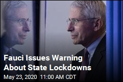 Fauci: Lockdowns Could Cause 'Irreparable Damage'