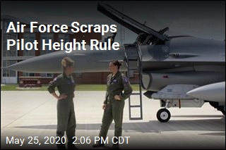 Air Force Officially Drops Height Requirement
