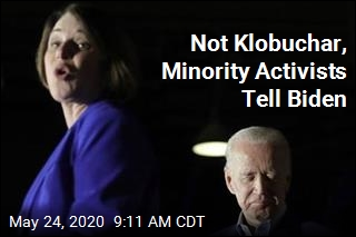 Klobuchar Isn't the Ticket, Minority Activists Argue