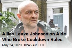 Johnson Allies Now Want Aide Who Broke Lockdown to Go
