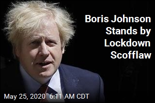 Boris Johnson Stands by Lockdown Scofflaw