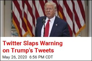 Twitter Adds Fact-Check Warnings to Trump Tweets