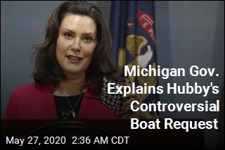 Michigan Gov.: Husband's Boat Request Was a (Bad) Joke