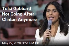 Tulsi Gabbard Not Going After Clinton Anymore