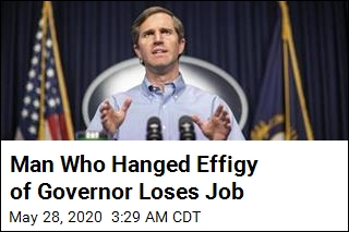 Man Who Hanged Effigy of Governor Loses Job