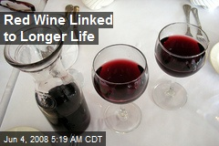 Red Wine Linked to Longer Life