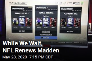 While We Wait, NFL Renews Madden