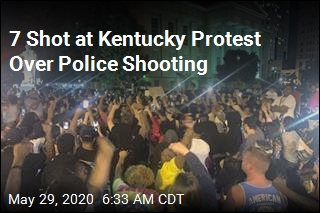 7 Shot at Kentucky Protest Over Police Shooting