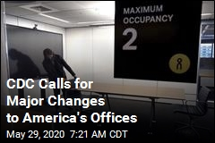 CDC Calls for Major Changes to America's Offices