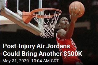 Post-Injury Air Jordans Could Bring Another $500K