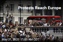 Protests Reach Europe