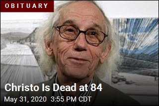 Christo Is Dead at 84