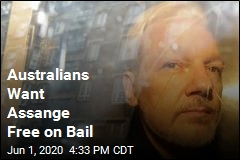 Australians Want Assange Free on Bail