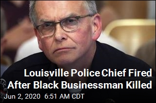 Louisville Police Chief Fired After 'BBQ Man' Shot Dead