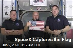 SpaceX Captures the Flag