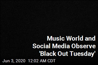 Music World and Social Media Went Dark Tuesday