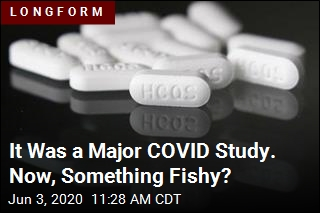 It Was a Major COVID Study. Was the Data a Sham?