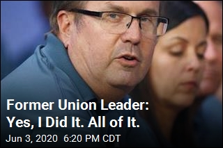 Former Union Leader Issues His Plea on Zoom