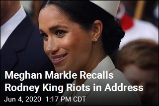 Meghan Markle Recalls Being a Kid During Rodney King Riots