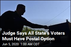 Judge: Tennessee Must Allow Vote by Mail for All