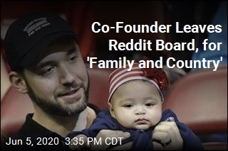 Co-Founder Leaves Reddit Board, for 'Family and Country'