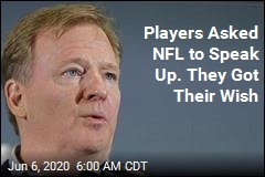 Goodell Speaks Out on Racism, but With One Big Omission