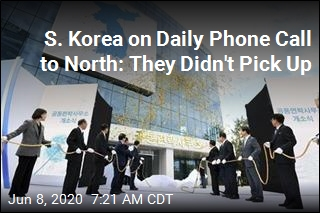 S. Korea on Daily Phone Call to North: They Didn't Pick Up