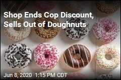 RI Doughnut Shop: No More Police Discounts