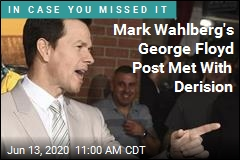 Mark Wahlberg's George Floyd Post Met With Derision
