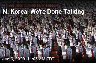 N. Korea: We're Done Talking