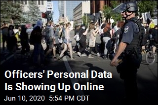 Leakers Post Personal Data of Officers and Families Online