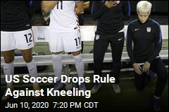 US Soccer Drops Rule Against Kneeling