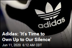 Adidas: 'It's Time to Own Up to Our Silence'