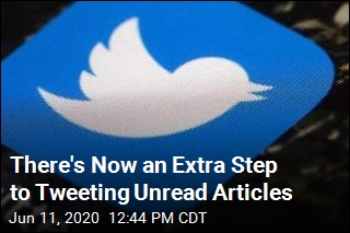 There's Now an Extra Step to Tweeting Unread Articles