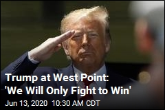 Trump at West Point: 'We Will Only Fight to Win'