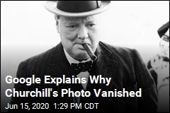 Google Explains Why Churchill's Photo Vanished
