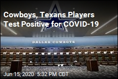 Cowboys, Texans Players Test Positive for COVID-19