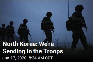 North Korea: We're Sending in the Troops