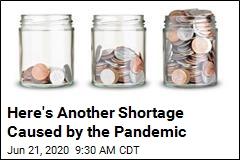 Another Pandemic Problem: Coins Are Just Sitting There