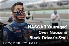 Noose Found in Black NASCAR Driver's Stall